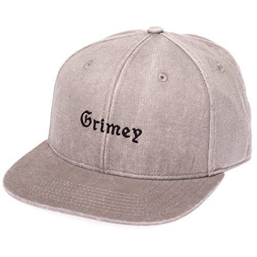 GRIMEY Gorra HI Jack FW17 Washed Grey-Strapback