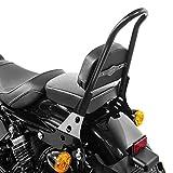 Respaldo desmontable CSM para Harley Sportster 883 Iron 09-19 negro