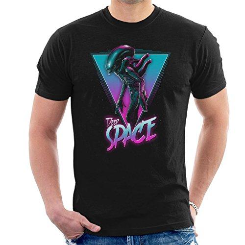 Alien The Space Xenomorph Neon Men's T-Shirt