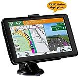 GPS Navigatore Satellitare Auto Touch Screen, Avviso Traffico...