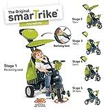Smart Trike Trike Inteligente Triciclo vehículo El Splash, Verde / Gris