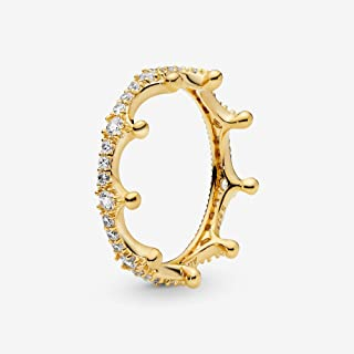 Enchanted Crown 18k Gold Plated Shine Collection Ring