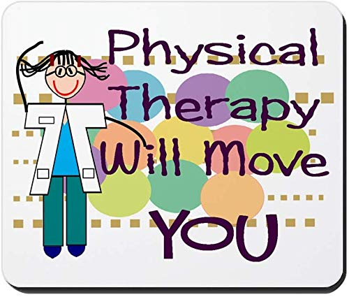 Rutschfestes Gummimousepad der Physiotherapie, Spiel-Mausunterlage