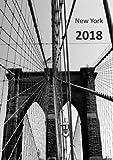 Kalender 2018 - New York Brooklyn Bridge: DIN A5, 1 Woche auf 2 Seiten, Platz für Adressen und Notizen