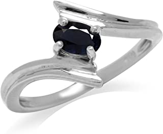 Best black gold plated sapphire ring Reviews