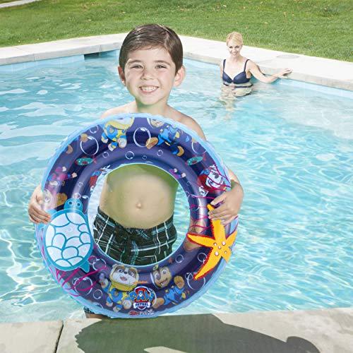 SwimWays 6043771 - Ring, aufblasbarer Schwimmring mit PAW Patrol Design