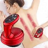 XIAOJUN Masajeador para Dar Forma al Cuerpo, Eléctrica Gua Sha Masajeador Herramienta de Terapia de ventosas, masajeador eléctrico de Espalda USB para Salones de Belleza, gimnasios