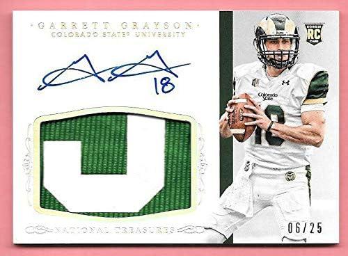 2015 NT Multi Sport Silver Patch Grayson #315 Nameplate Sale Garrett OFFicial site