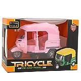 Triciclo a escala 1:14 modelo de motocicleta de juguete para niños mini...