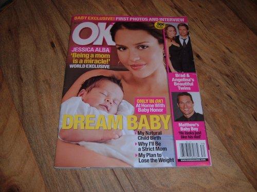 OK Weekly Magazine-July 28, 2008 issue-Jessica Alba.