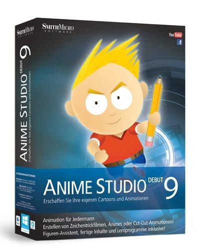 Anime Studio Debut 9 dt. Mac/Win