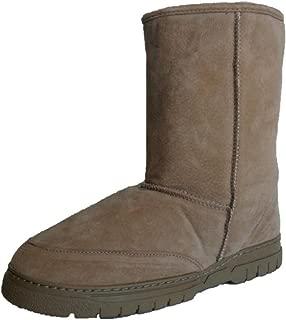 Model 9844 Men's Genuine Australian Shearling Sheepskin/Suede Boots