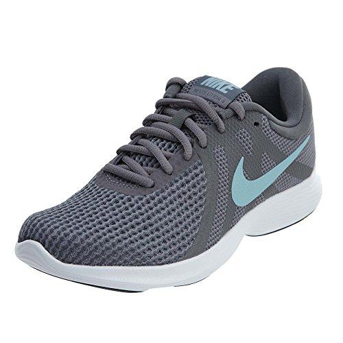 Nike Women's Revolution 4 Running Shoes (9.5 B US, Gunsmoke/Ocean Bliss/Dark Grey)