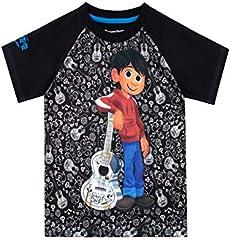 Disney Camiseta de Manga Corta para niños Coco