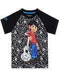 Disney Boys' Coco T-Shirt Black Size 6