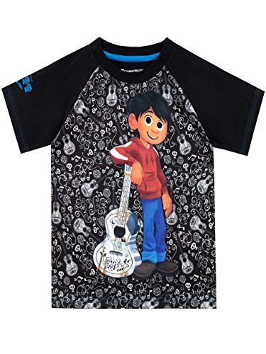Disney Jungen Coco T-Shirt Schwarz 110