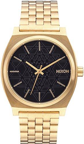 Nixon Reloj Analógico Unisex con Correa de Chapado En Acero Inoxidable – A0452478-00