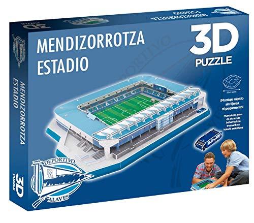 Eleven Force Puzzle 3D Estadio de Mendizorroza (Producto Oficial Deportivo Alavés) (98 Piezas Aprox.)