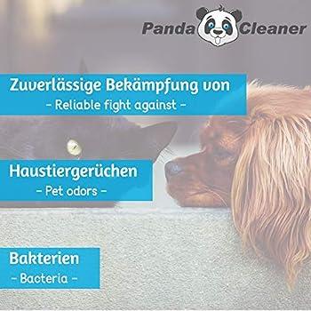 PandaCleaner® Bio-Urin Attack Odour Remover/Smell Neutraliser - Bidon de 5 litres Concentré - Elimination Biologique des odeurs d'animaux domestiques