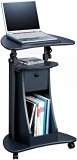 ZZHF La table de nuit Table d'appoint d'ordinateur, table d'appoint pour plateau de chariot de bureau portable portable su...