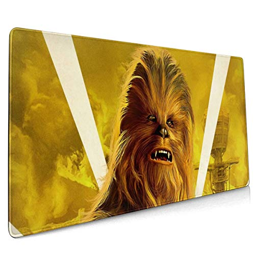 C-hewbacca Extended Large Gaming Mouse Pad - XXL Mouse Mat (15.8x35.5 in), Desk Pad Keyboard Mat, Non-Slip Base, Water-Resistant, for Work & Gaming, Office & Home -  Time Vitality Coast, 7408250216746