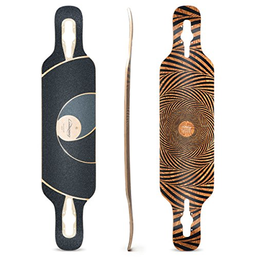 Loaded Boards Tan Tien Bamboo Longboard Skateboard Deck (Flex 2)