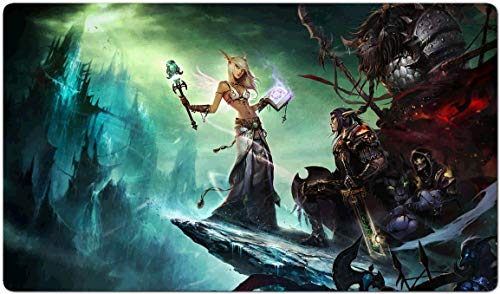 287507 - World of Warcraft-Brettspiel MTG Spielmatte Tischmatte MTG playmat Größe 60x35cm Mousepad Spielmatte für TCG Magic The Gathering