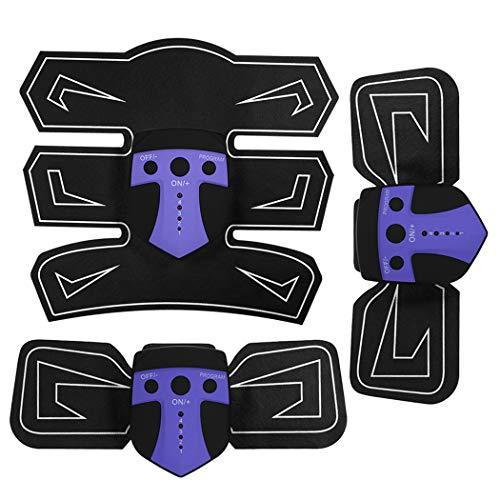 JGRH Abdominal Pegatinas ccsme Entrenador Abdominal Muscular estimulador Muscular ABS Pierna del Brazo del Adelgazamiento masajeador Estimular Fuerza de Fitness Plataforma vibratoria