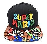 Super Mario Hat Mario manga corta Super Mario Anime Cartoon lindo sombrero gorra de béisbol hombres y mujeres Original Cap Cover