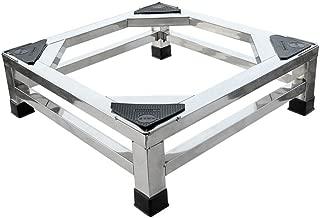 NUBAO Base de electrodomésticos grande Base de acero inoxidable Aumento de la base Base rectangular 60 cm (23.62 pulgadas) de largo 50 cm de ancho (19.69 pulgadas) 15 cm (5.91 in) / 20 cm (7.87 in) de altura