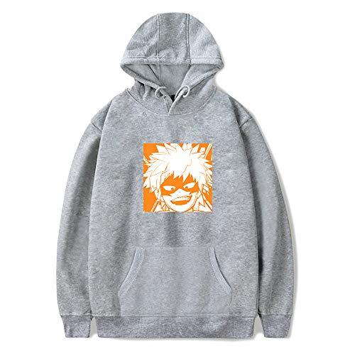 My Hero Academia Hoodie Deku Friends Ropa de Calle con Capucha Sweatershirt Todoroki Shoto/Bakugou Katsuki/Midoriya Izuku/Himiko Toga/Asui Tsuyu Chaqueta de Disfraz de Cosplay