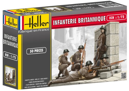 Heller 1:72 - Fanteria Inglese (British Infantry)