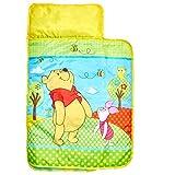 Winnie the Pooh Bequemer Wickel-Schlafsack, Plastik, gelb, 110 x 72 x 8 cm