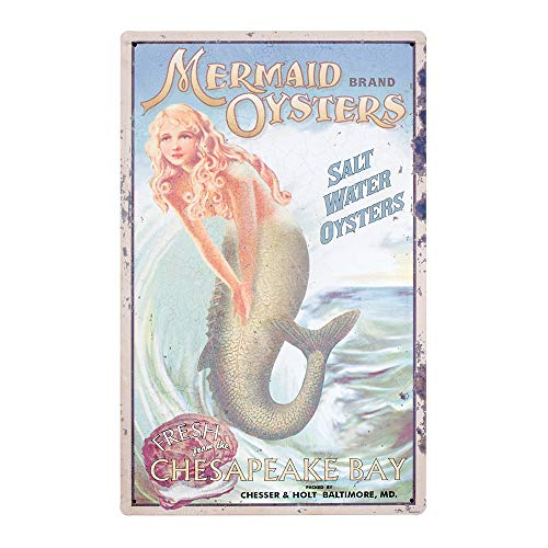 Ohio Wholesale Mermaid Advertising Sign Wall Art, from our Water Collection