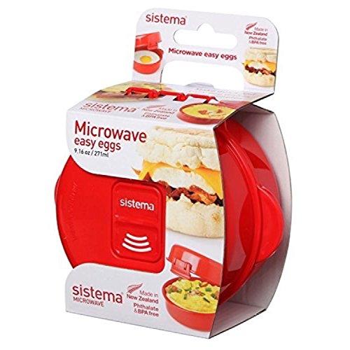 Sistema SI1117 Easy Eggs Micro-Ondes Cuiseur à Oeufs Plastiq