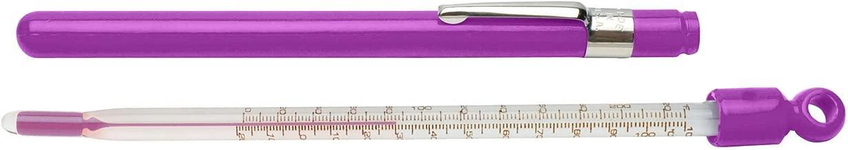 H-B DURAC Plus Pocket Liquid-in-Glass Thermometer; 20 to 120F, Closed Plastic Case, Organic Liquid Fill (B60770-1300)