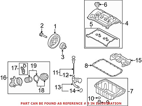 Genuine OEM Exhaust Manifold Gasket For Mini F55 F56 R52 R55 R56 R57 R58 R59 R60 R61 Cooper Countryman Paceman Base Clubman Coupe Roadster 2007-2016 1.6L L4 Natural Asp FWD