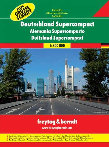 Germany supercompact 1:300.000: Wegenatlas (grote letters) 1:300 000: DSCAA SP