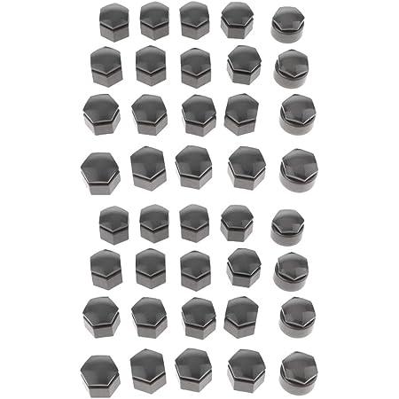 40pcs Auto Radmutter Kappen Abdeckungen Set Radschraubenkappen Radkappen Für 22mm Rad Reifen Auto