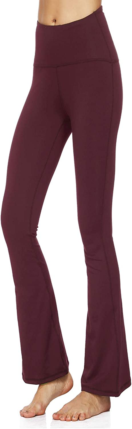 QinYing Seattle Mall Womens Yoga Pants High Flare Casual Stretch Pant Waisted gift