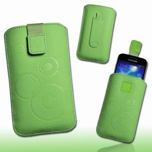 Funda Bolsillo–Funda de piel color verde claro/Menta Diseño M76Talla 3para Huawei Honor/Huawei...