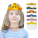 [O2 Lifecare] 6 Qty KIDS Face Shield Face Cover with 6 Different from Each other Character Clear Visor Elastic Band & Confort Sponge x 6 qty