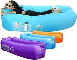 Wekapo Inflatable Lounger Air Sofa Hammock-Portable,Water Proof& Anti-Air Leaking Design-Ideal...