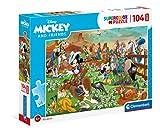 Clementoni- Mickey and Friends Disney Puzzle Infantil, Multicolor (23759)