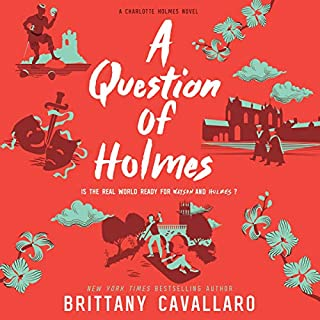 A Question of Holmes audiobook cover art