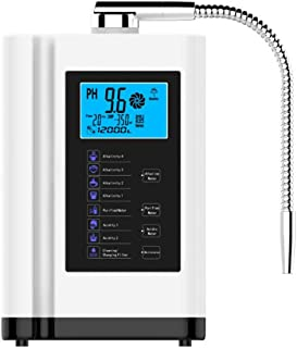 XSGDMN Ioniseur Eau alcaline, Accueil Filtre à Eau alcaline pour contrôler Le PH 3.5-10.5 l'eau et Le Redox jusqu'à -500mV...