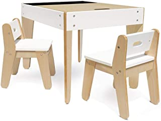 P'Kolino PKFFMTCWH Little Modern and Table Chairs