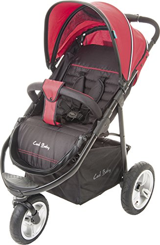 Fillikid Jogger Urban Air Schwarz Rot