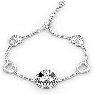 Dongsheng The Nightmare Before Christmas bracelet breloque Halloween Jack skellingt