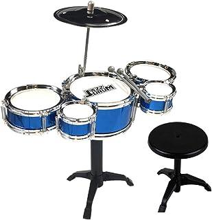 ATATMOUNT Set de batería de Jazz para niños con Palos Mini Band Toy Juguete Educativo Musical para niños